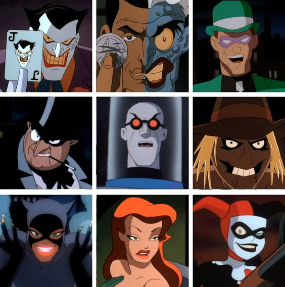 Villains of Batman