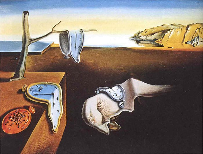 The-Persistence-of-Memory-1931-Salvador-Dali